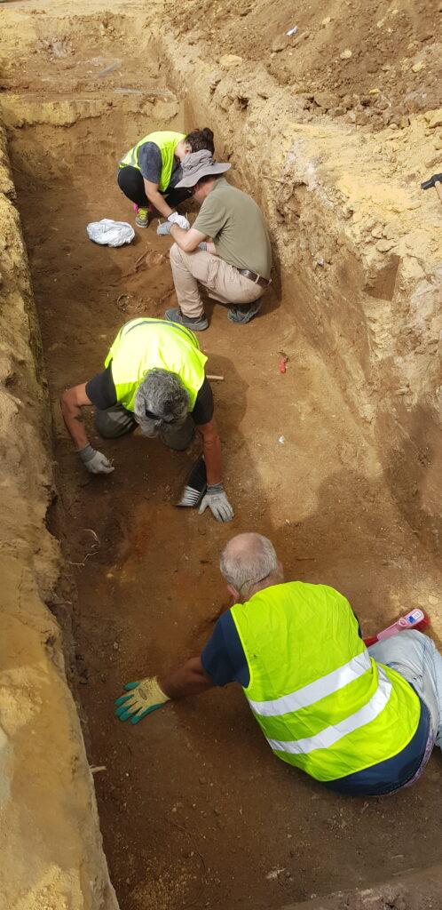 Excavación parque scout 2020